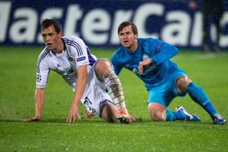 Для «Зенита» и «Андерлехта» встреча в Брюсселе будет ключевой в групповом турнире