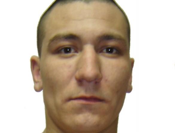 Юрий Прохоров, осужденный по статье 105 часть 2 (убийство) УК РФ, сбежавший из исправительной колонии №19 под Иркутском.
