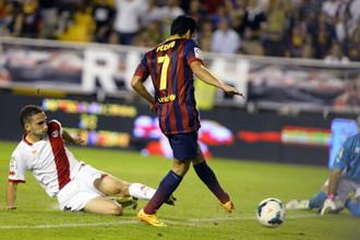 Педро Родригес сделал первый хет-трик за «Барсу»