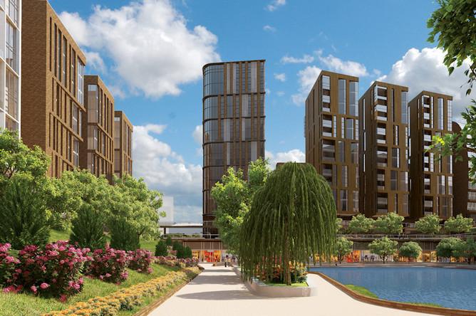 Проект комплексного освоения территории – жилой комплекс «Садовые кварталы»