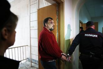 Сергей Телин, задержанный по подозрению в совершении преступления в отношении предпринимателя В. Катаняна