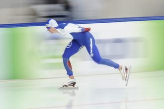 Денис Юсков одержал победу на этапе Кубка мира по конькобежному спорту