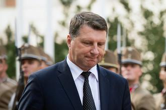 Министр обороны Латвии Раймонд Вейонис