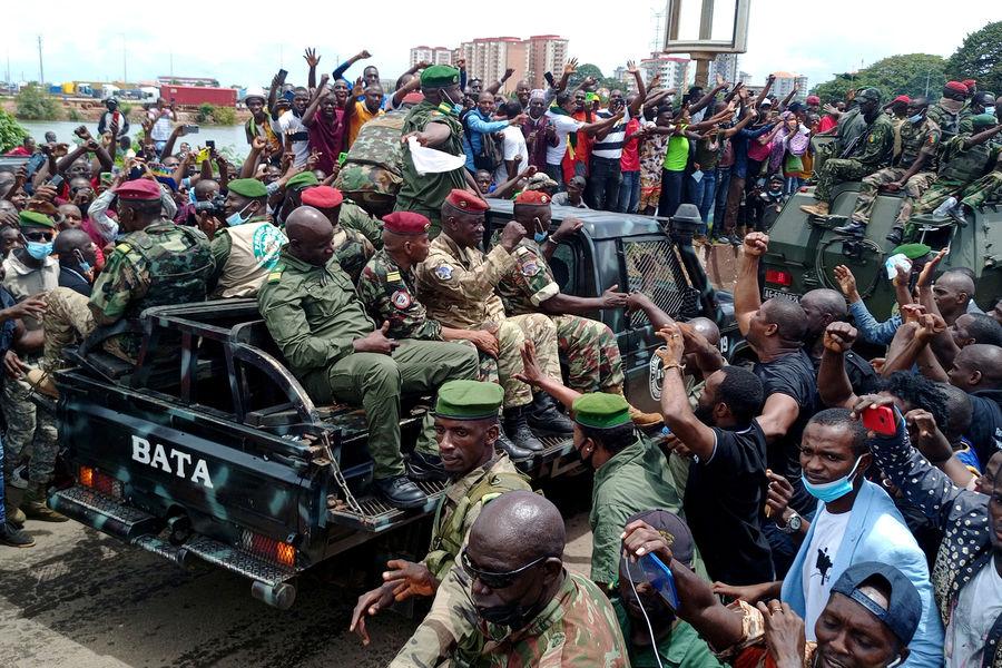 РЎРѕСЋР· оппозиционных партий Гвинеи РЅРµ считает события РІСЃС'ране государственным переворотом