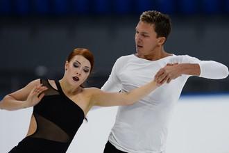 Екатерина Боброва и Дмитрий Соловьев на сборах в Сочи
