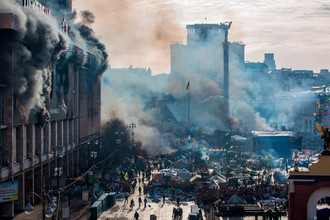 Киев, февраль 2014 года