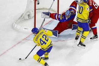 Россия играет со Швецией в первом матче на ЧМ-2017 по хоккею
