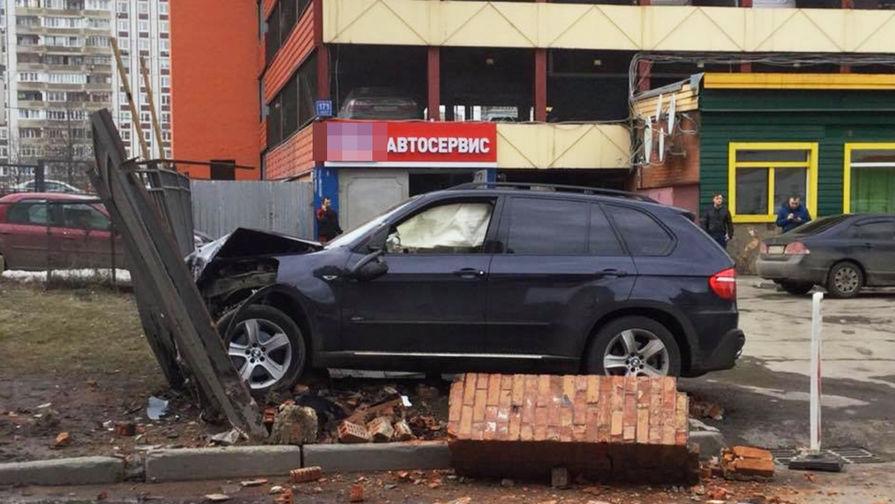 Последствия ДТП с BMW X5