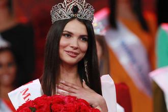Победительница конкурса красоты «Мисс Москва 2018» Алеся Семеренко