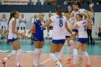 Женская сборная России по волейболу в сложном матче одолела команду Турции