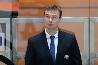 Исполняющий обязанности главного тренера магнитогорского «Металлурга» Виктор Козлов