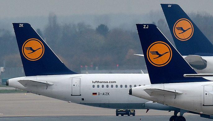 «Разовый случай»: Lufthansa не смогла полететь в Россию из-за «отсутствия разрешения ведомств»