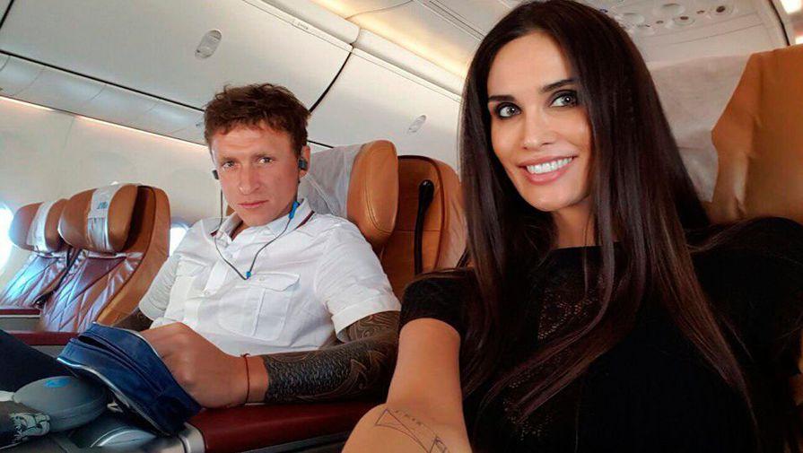 Павел Мамаев и его жена Алана