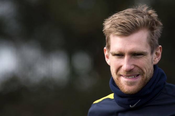 Немецкий защитник «Арсенала» Пер Мертезакер