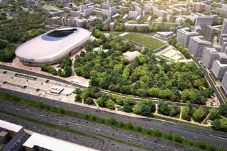 Проект комплексного освоения территории — «ВТБ Арена парк»