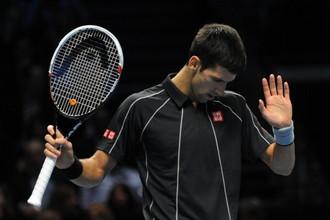 Новак Джокович в финале итогового турнира ATP