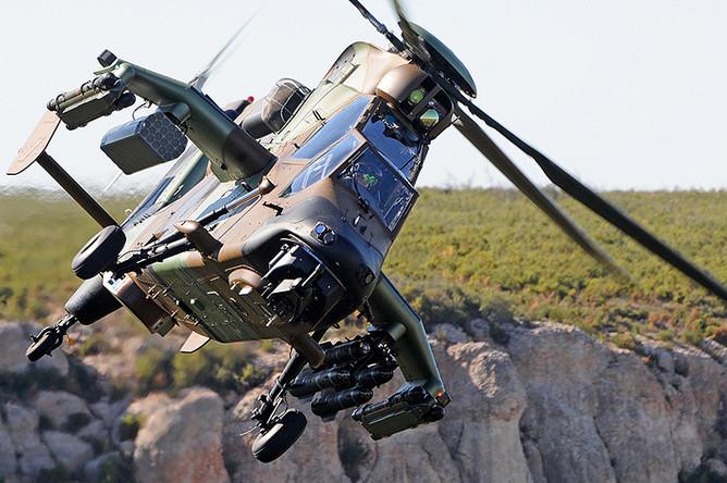 Многоцелевой ударный вертолет Tiger HAD армии Франции