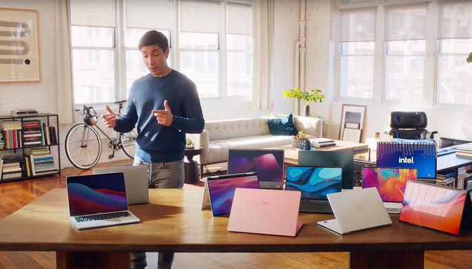 «Серый и еще более серый»: Intel высмеяла MacBook в новой рекламе