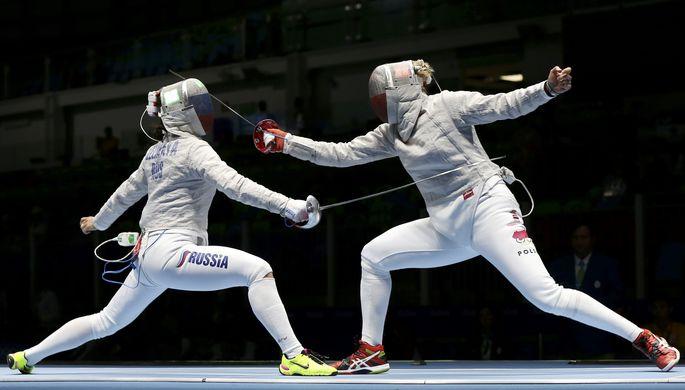 Софья Великая одержала победу над польской фехтовальщицей