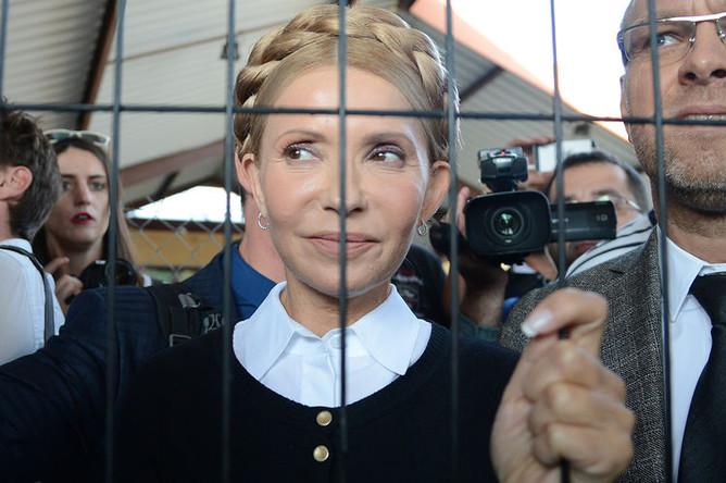 Лидер «Батькивщины» Юлия Тимошенко