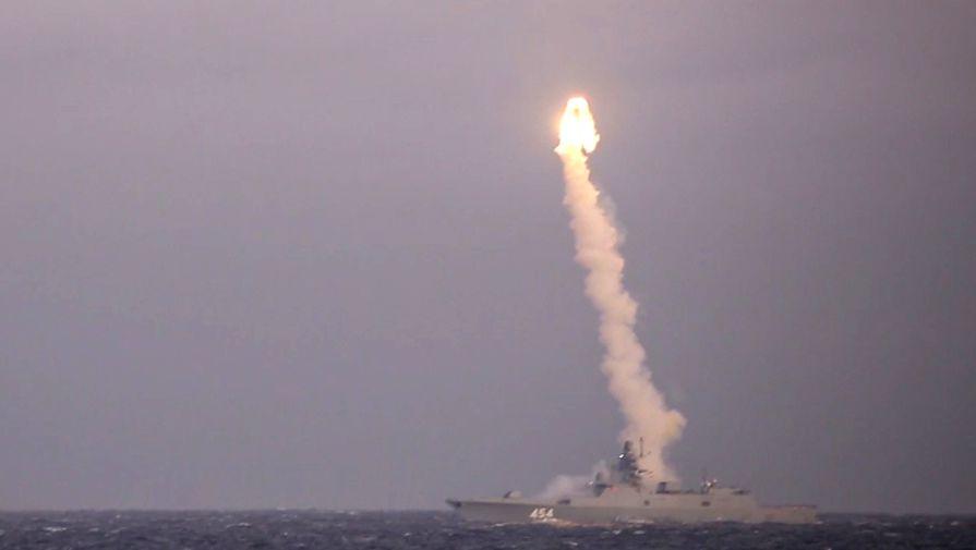 Удар по берегу: проведены очередные испытания «Циркона»