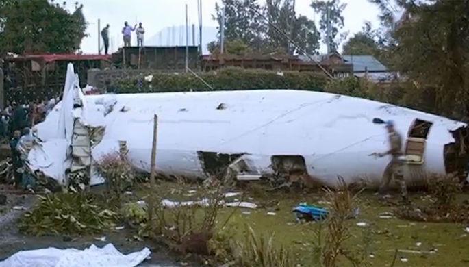 Крушение в Конго: Ан-72 пилотировали россияне