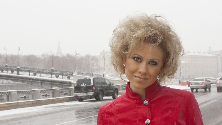 Олимпийская чемпионка по фигурному катанию Оксана Баюл