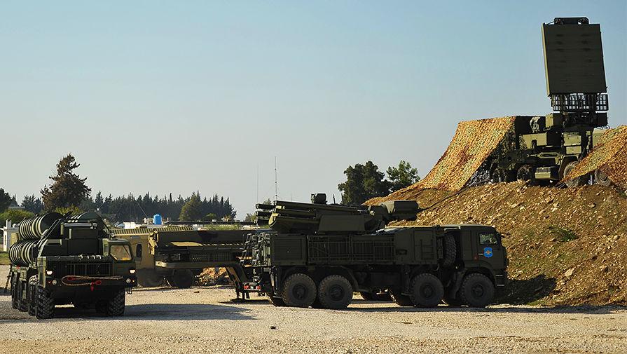 Российская ПВО отразила атаку беспилотников на базу Хмеймим в Сирии