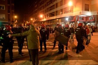 Столкновения между фанатами «Спартака» и «Атлетика» в Бильбао