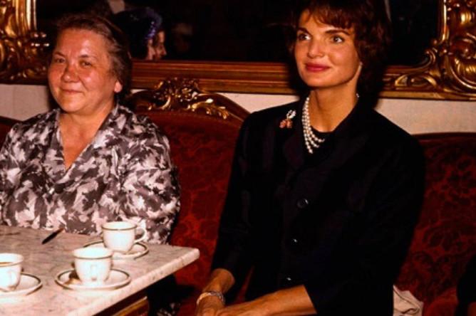 Нина Хрущева и Жаклин Кеннеди, 1961 год