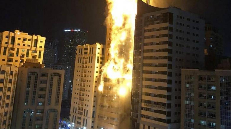 Дубай пожар в небоскребе видео оформление карты поляка