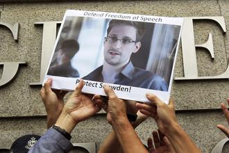 Сноуден с видом на жительство