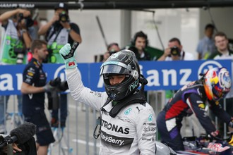 Нико Росберг доволен итогами квалификации в Японии