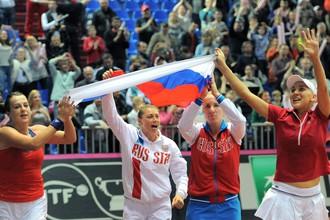 Сборная России выиграла Кубок Федерации