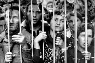 Во время стачки на гданьской судоверфи в 1980-м