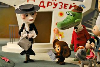 Кадр из мультфильма «Чебурашка» (2009)