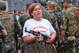 Донецк, лето 2014-го