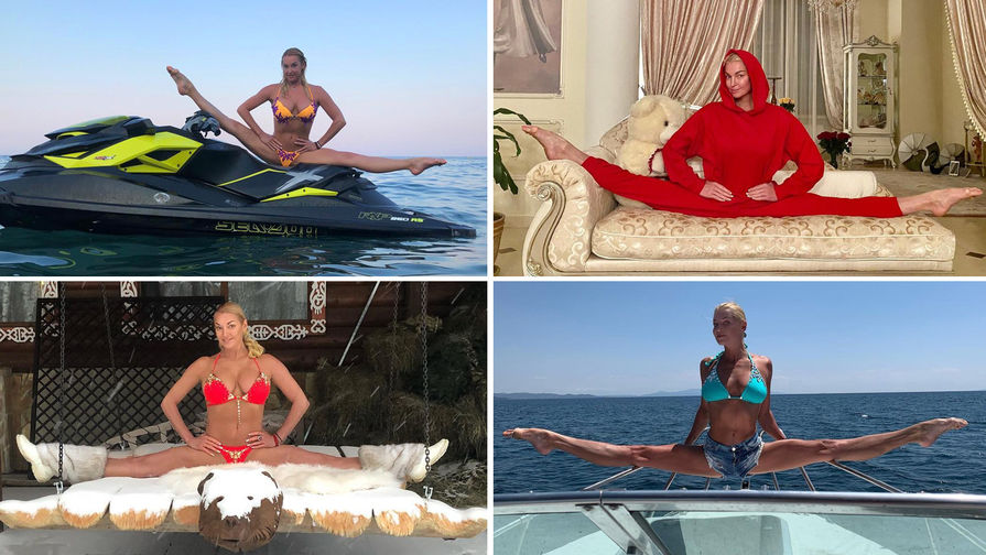 45 шпагатов к 45-летию Анастасии Волочковой
