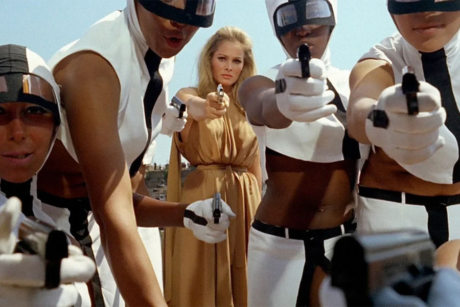 Кадр изфильма «Десятая жертва» (1965)