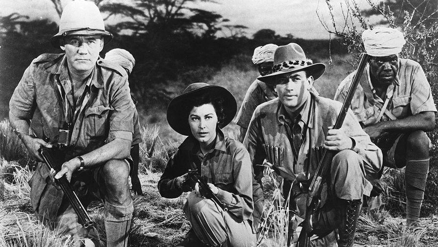 Кадр из фильма «Снега Килиманджаро» (1952)