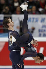 Ксения Столбова и Федор Климов продемонстрировали в Москве лучший прокат в карьере