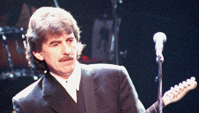 Выступление Джорджа Харрисона в Лондоне, 6 апреля 1995 года