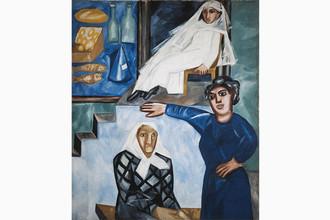 «Еврейские женщины» (Еврейская лавочка). 1912 год. Холст, масло, 158,5 х 135,5