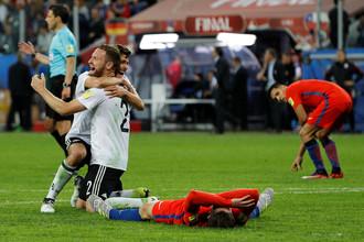 Германия победила в финале Кубка конфедераций — 2017