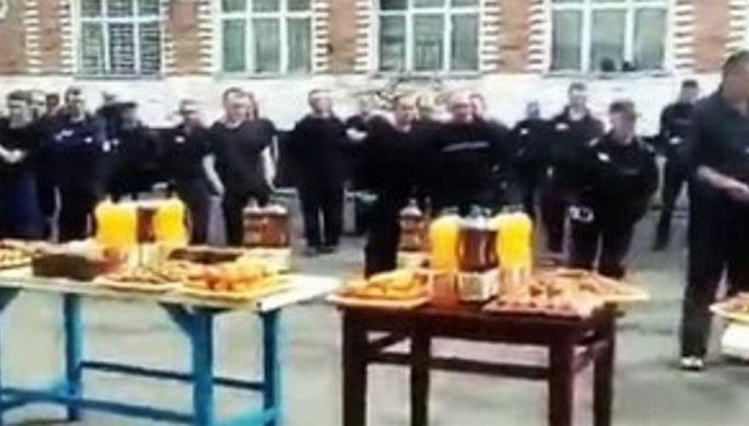 Пасхальный банкет для заключенных: виновные найдены