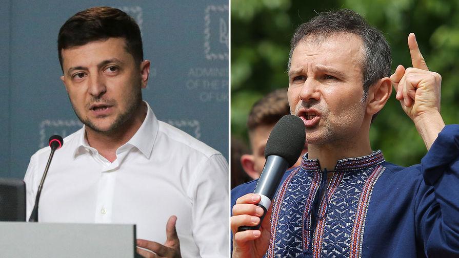 В партии Зеленского допустили объединение с партией Вакарчука