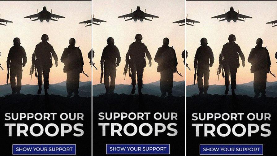 «Поддержите войска»: в рекламе Трампа нашли российские МиГи