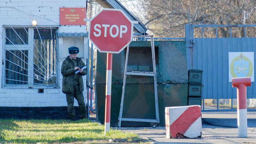 Ситуация у военного аэродрома «Балтимор» под Воронежем, где солдат-срочник расстрелял сослуживцев, 9 ноября 2020 года