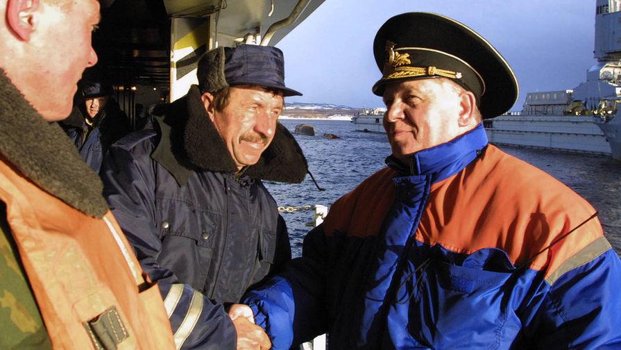 «Мы служили для России»: умер вице-адмирал Михаил Моцак