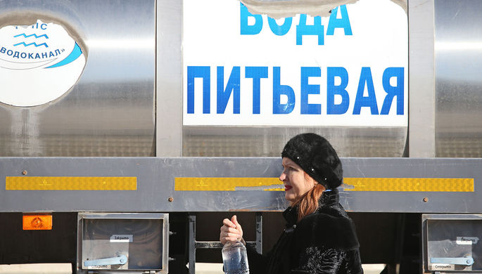 Заработать на Крыме: на Украине хотят продавать воду